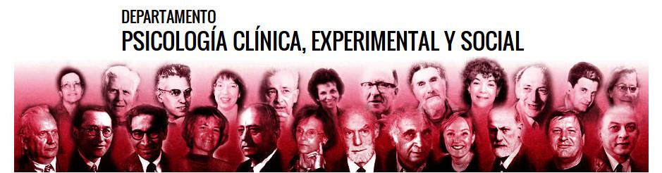 Departamento de Psicología Clínica, Experimental y Social