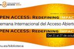Semana Internacional del Acceso Abierto