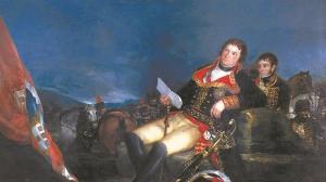 Godoy como ganador de la Guerra de las Naranjas, pintado por Goya