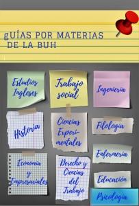 Guías de  la BUH por materia