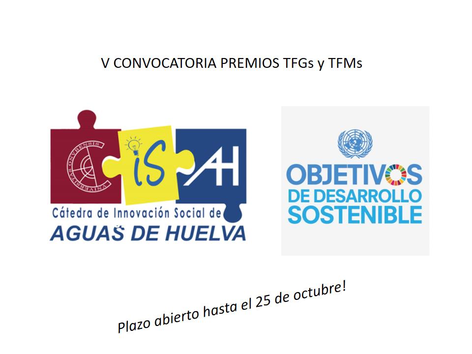 ABIERTA V CONVOCATORIA PREMIOS TFG/TFM