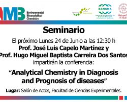 Analytical chemistry in diagnosis and prognosis of diseases